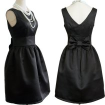 Audrey Hepburn-inspired dress, US$55, by Prettyobession on etsy.com