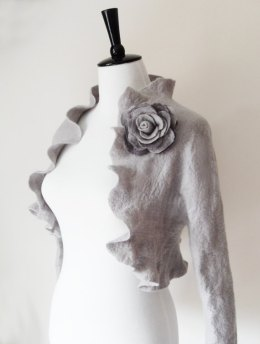 Bridal shrug, by softadditions on etsy.com