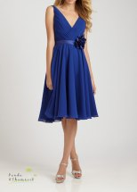 Bridesmaid dress available in multiple colours, US$170 by pandaandshamrock on etsy.com
