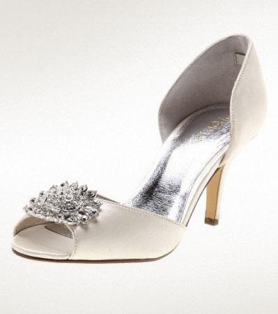 Cinders ivory shoe, from styletread.com.au