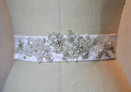 Dress sash, by MysteriousMannequin on etsy.com