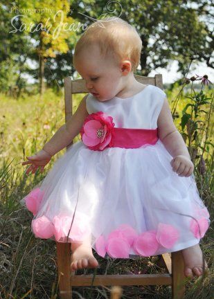 Flower girl dress, by juliettaboutique on etsy.com