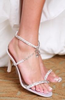 Hilton shoes, from fairytalebridal.co.nz