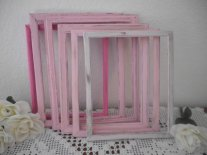 Shabby chic frames, by ElegantSeashore on etsy.com