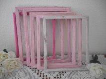 Shabby chic frames, by ElegantSeashore on etsy.com