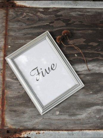 Silver frames, by montanasnow on etsy.com