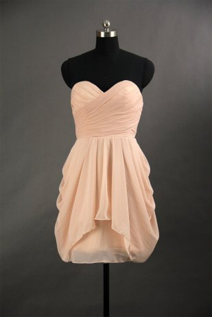 Sweetheart bridesmaid dress available in 28 colours, US$86.66, by harsuccthing on etsy.com