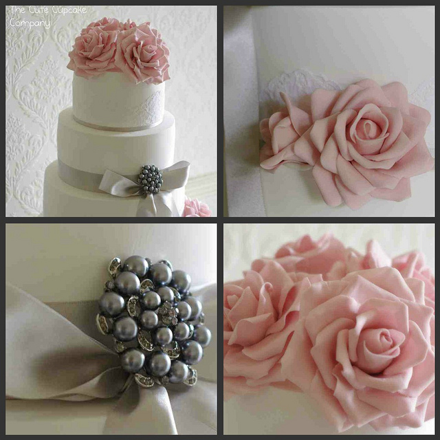 blush pink and grey wedding cake blush pink and grey wedding inspiration the merry 12042