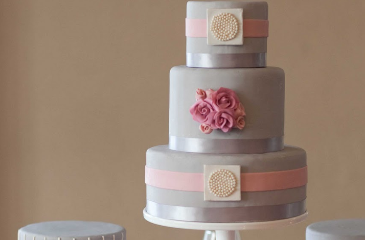 blush pink and grey wedding cakes blush pink and grey wedding inspiration the merry 12043