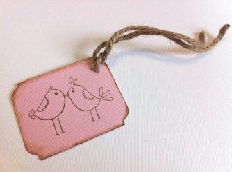 Wedding favour tags, by PaperDiamondDesign on etsy.com