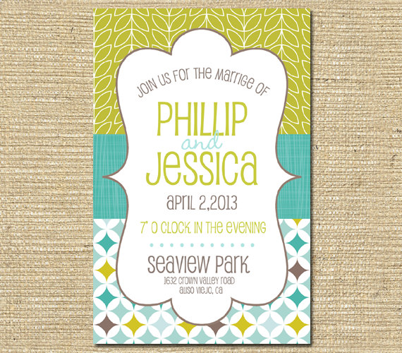 My Favourite Invitations On Etsy Com Right Now The Merry Bride