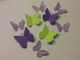 Butterfly confetti, by treasuresgaloreplusm on etsy.com