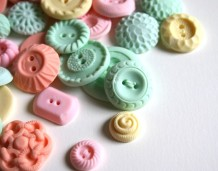 Candy buttons! Yum! By andiespecialtysweets on etsy.com