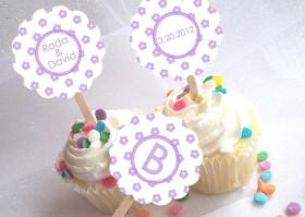 Cupcake picks, by NecessiTees on etsy.com