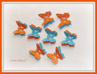 Decorative butterflies, by CreativeStudio69 on etsy.com