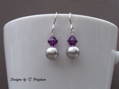 Earrings, by DesignsbyTBrigham on etsy.com