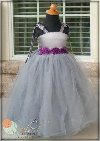 Flower girl dress, by SCbydesign on etsy.com