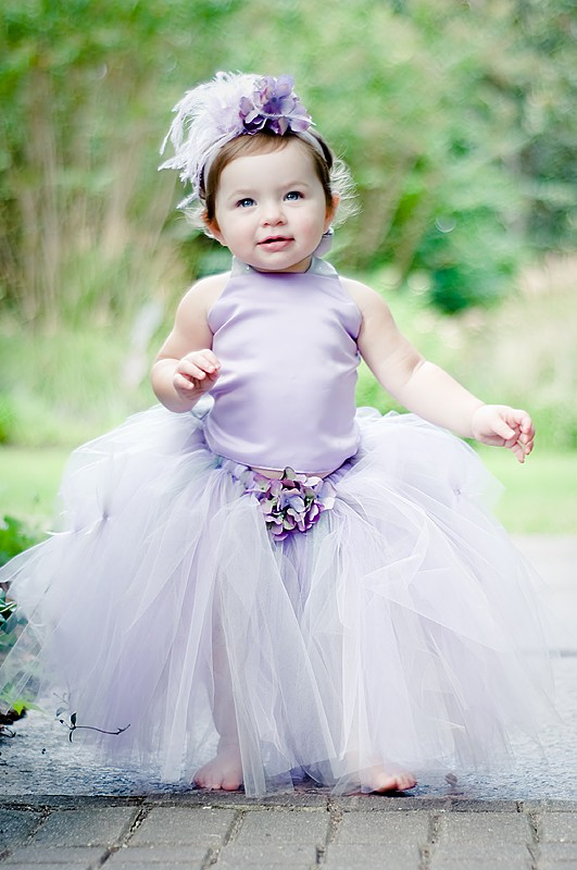 Flower Girl Tutu Dress By Bellabeancouture On Etsy Com