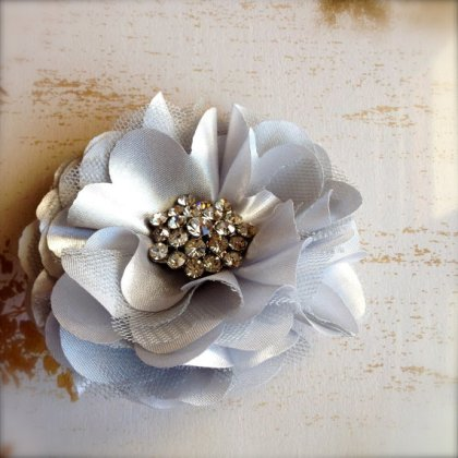 Hair accessory or brooch, by TutusChicBoutique on etsy.com
