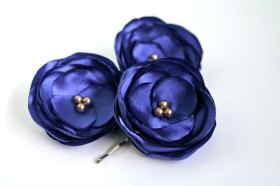 Hairpins, by BelleBlooms on etsy.com