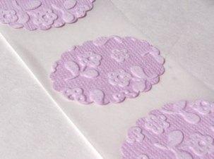 Invitation seals, by Simplycutestuff on etsy.com