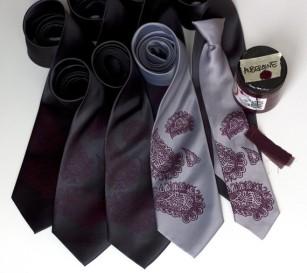 Men's ties, by Cyberoptix on etsy.com