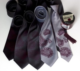 Men's ties, by Cyberoptix on etsy.com