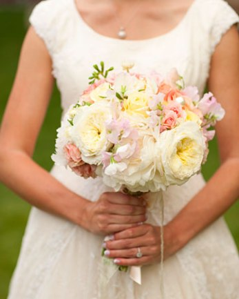 Bouquet in pastels