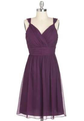 Plum-thing Special dress, from modcloth.com