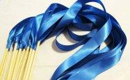 Ribbon wands, by LivingAFairytale on etsy.com