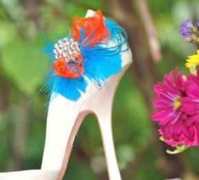Shoe clips, by sofisticata on etsy.com