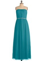 The Local Muse dress in turquoise, from modcloth.com