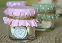 Wedding favours, by HuffyHen on etsy.com