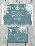 Winter garden invitation, by WeddingSundae on etsy.com