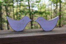 Wooden lovebirds, from DuanesWorkshop on etsy.com