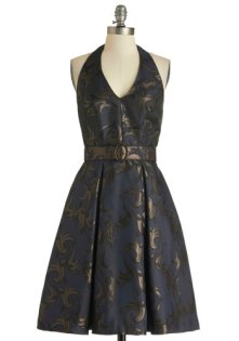'Bright Midnight' dress, from modcloth.com