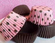 Cupcake liners, by BakersBlingShop on etsy.com