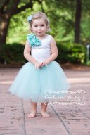 Flower girl dress, by BambaroosBoutique on etsy.com