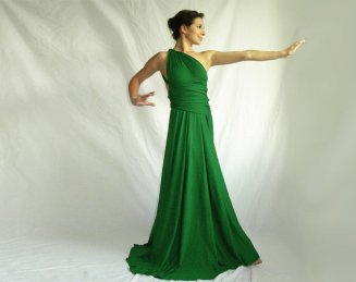 Infinity bridesmaid dress, by orchideaboutique on etsy.com