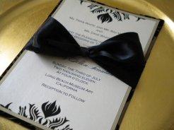 Invitation, by AdornedByDana on etsy.com