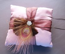 Ringbearer pillow, by WeeGardens on etsy.com