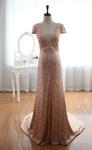 Wedding dress, by wonderxue on etsy.com