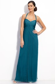 Amsale Chiffon Halter Gown, from nordstrom.com