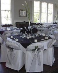 Black and white reception idea