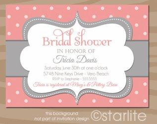 Bridal shower invitation, by starwedd on etsy.com