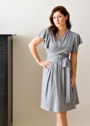 Bridesmaid dress for a less formal wedding, by Lirola on etsy.com