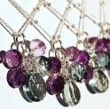 Bridesmaid necklaces, by hamptonjewels on etsy.com