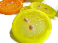 Citrus soaps - great favour idea, by Scentcosmetics on etsy.com