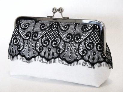 Clutch purse, by lostintimeinc on etsy.com