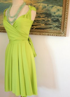 Convertable wrap dress, by CoralieBeatrix on etsy.com